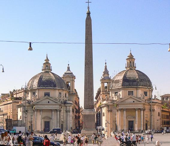 Piazza del Popolo. 5 dias en Roma