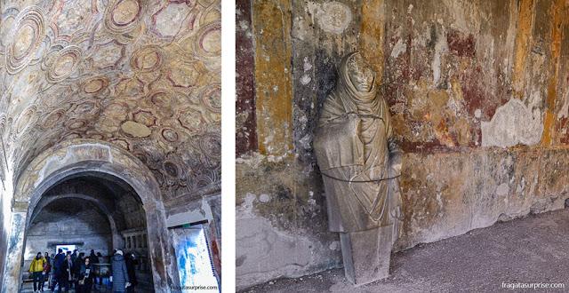 Termas de Pompeia, Itália