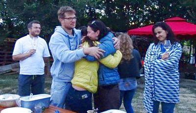 O mie și una de emoții la petrecerea de rămas bun a prietenilor noștri Angela și Ghislain