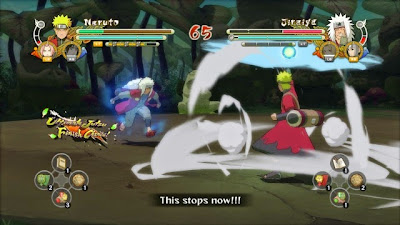 Naruto Ultimate Ninja Storm 3 Full Brust PC Gameplay
