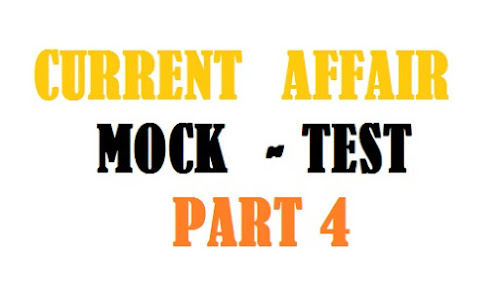 Daily Current Affair Mock test