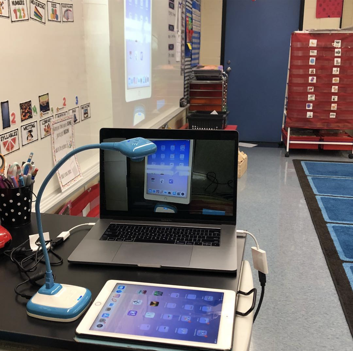 Affordable document camera for the classroom