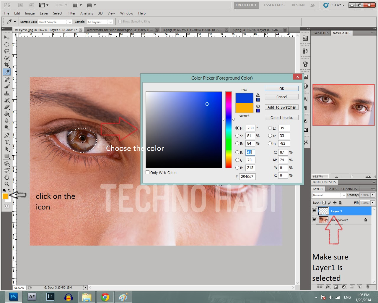 introduction about adobe photoshop tools