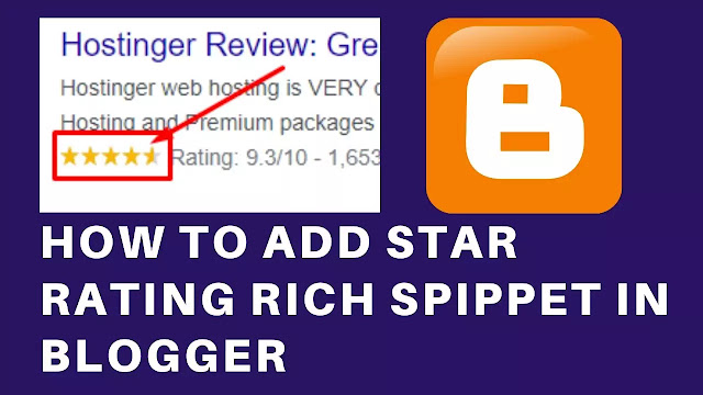 How to Install Star Rating Rich Snippet in Blogger