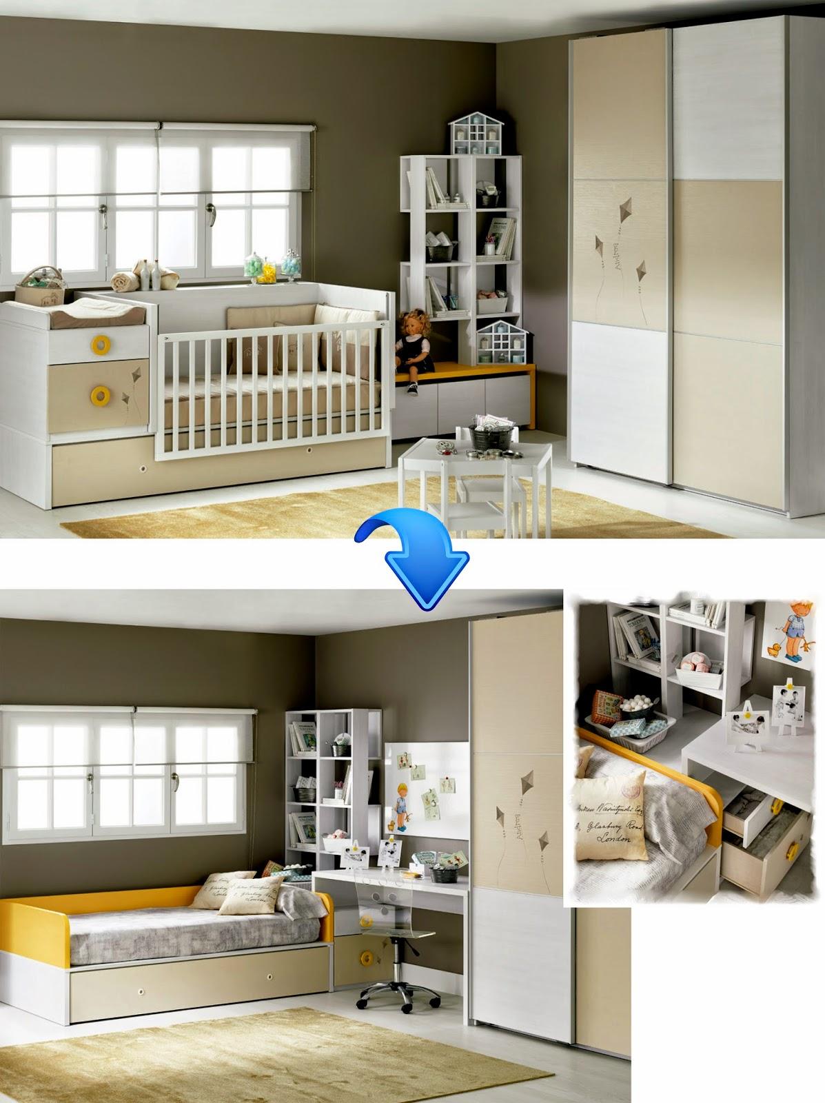 camas y cunas cunas convertibles con cama nido