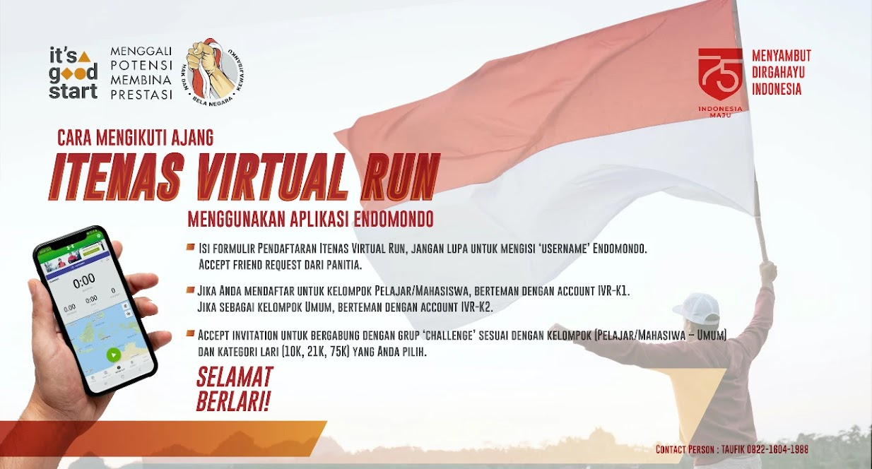 Itenas Virtual Run • 2020