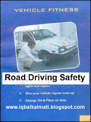 Driving Safety Tips and Signs Detail Booklet In English