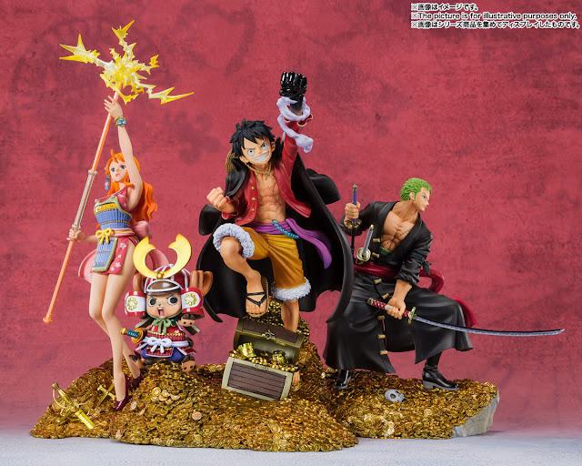 One Piece – Figuarts ZERO -WT100 Anniversary Eichiro Oda Original Illustration 100 Views of Pirates- Luffy, Zoro y