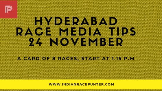 Hyderabad Race Media Tips 24 November
