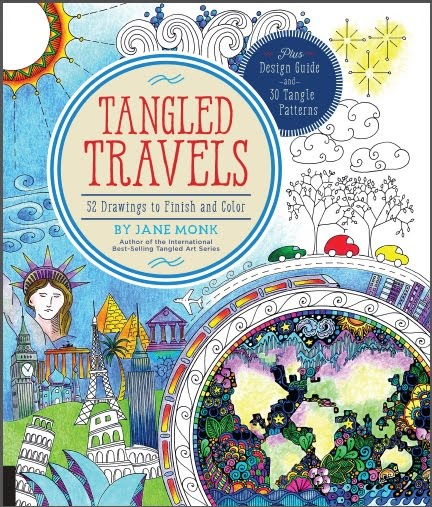 Tangled Travels Coloring In Book