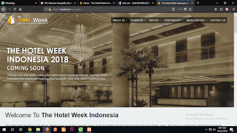 THE HOTELWEEK INDONESIA : Template V.1 2017