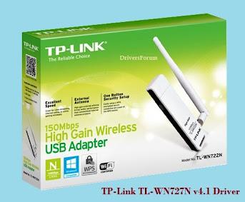 TP-Link TL-WN727N v4.1 Driver