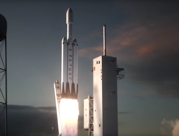 Spacex Launch Of Private Citizens On A Lunar Orbiting