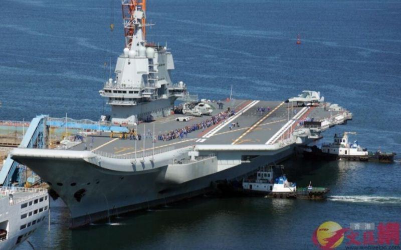 Kapal induk Shandong China