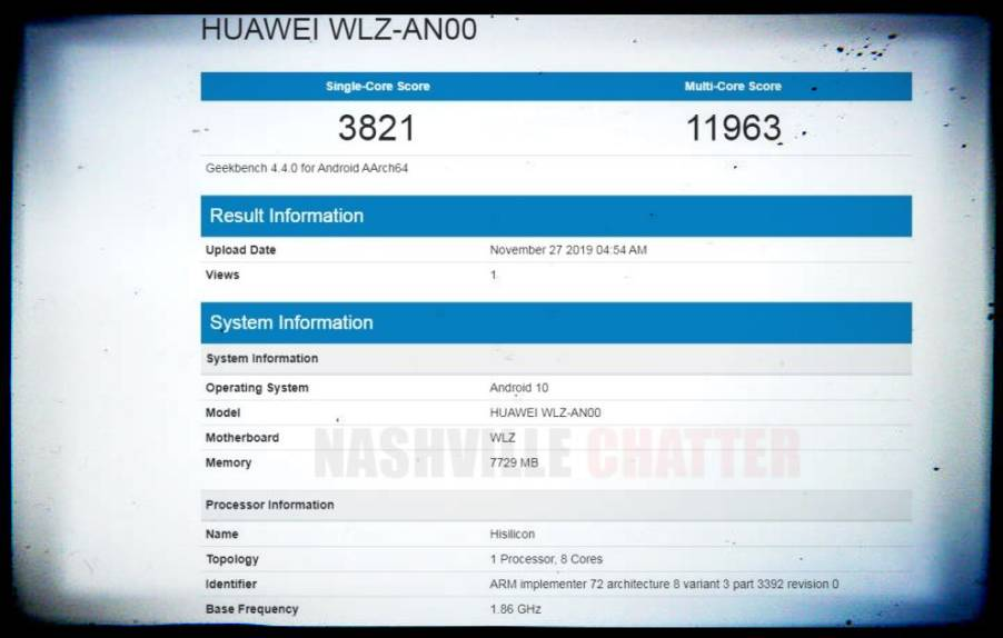 Kirin 990, Android 10 and 8 GB of RAM. Key features of Huawei Nova 6 5G confirmed