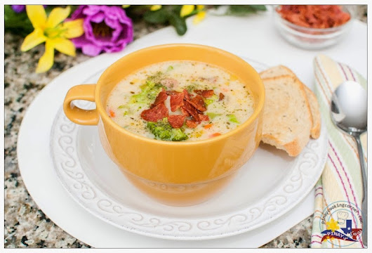 Pinay In Texas Cooking Corner: Ham and Vegetable Chowder