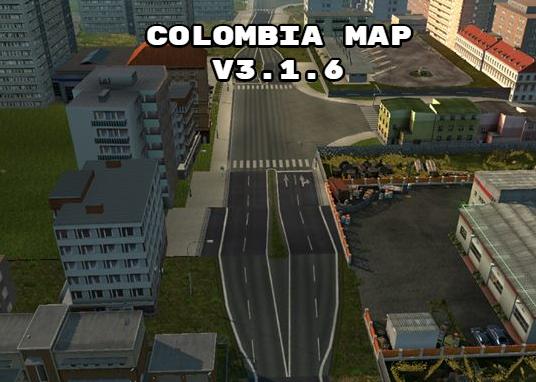 Euro Truck Simulator 2 Kolambiya Haritası İndir (1.30.x) 2018