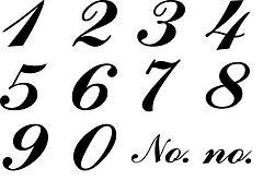 Italic Numbers