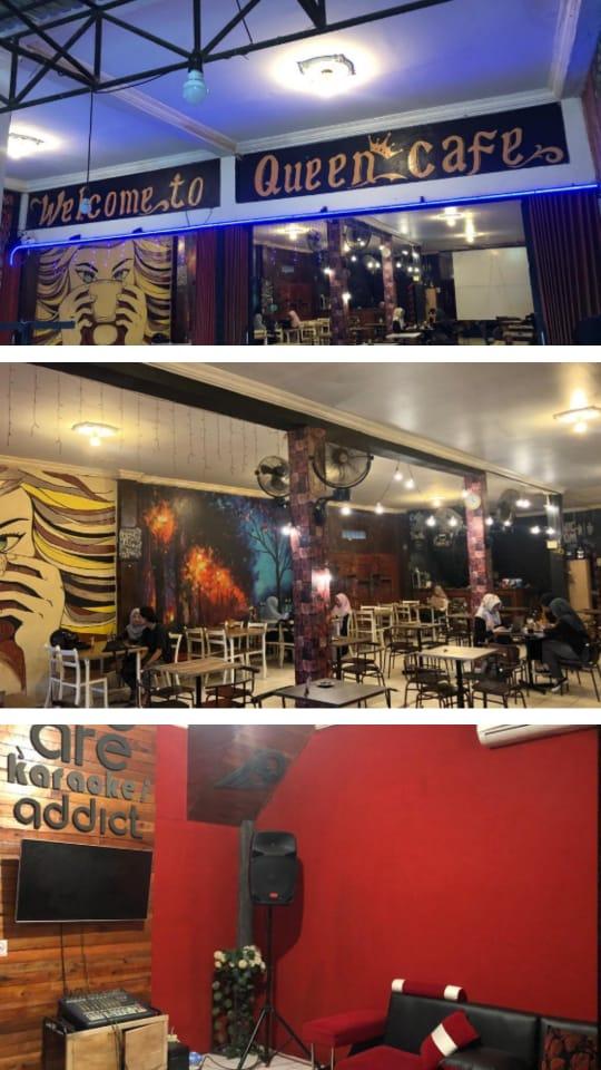 Ide Nama Cafe : Queen, Sambas
