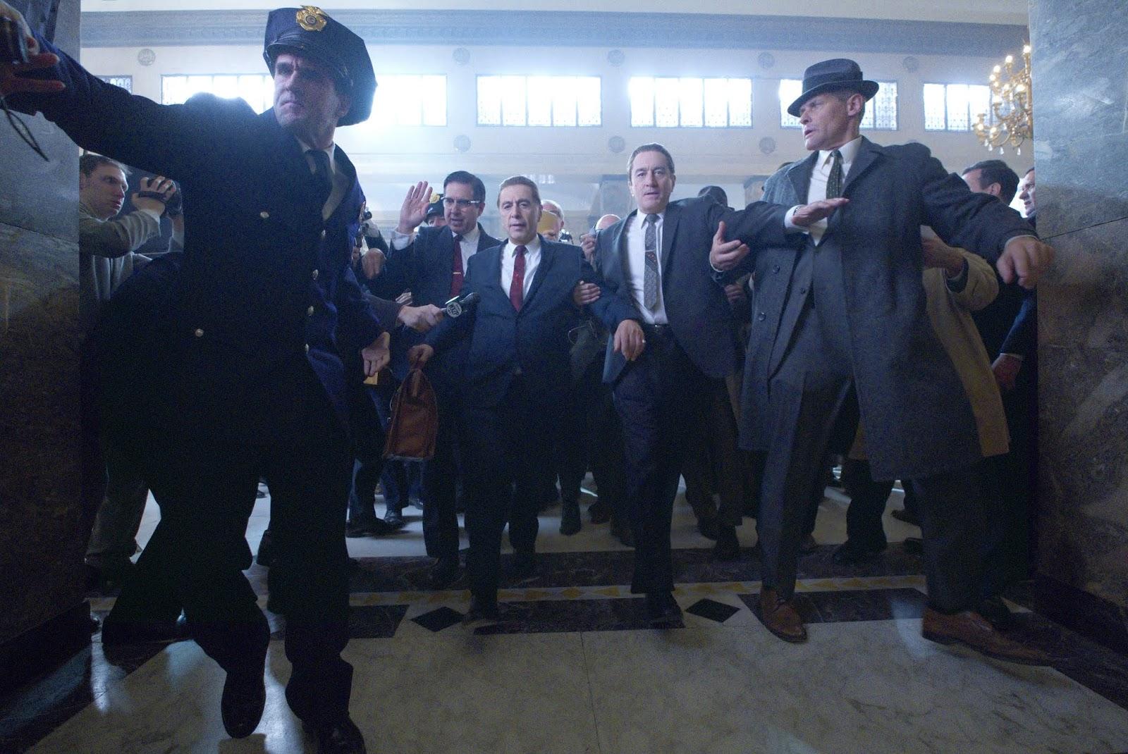 Netflix divulga trailer final de 'O Irlandês' com Robert De Niro e Al Pacino