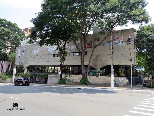 Vista ampla da Biblioteca Alceu Amoroso Lima - Pinheiros - São Paulo