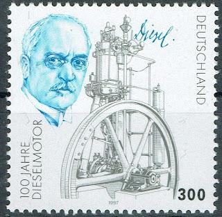 Germany 100 Years Diesel Engine
