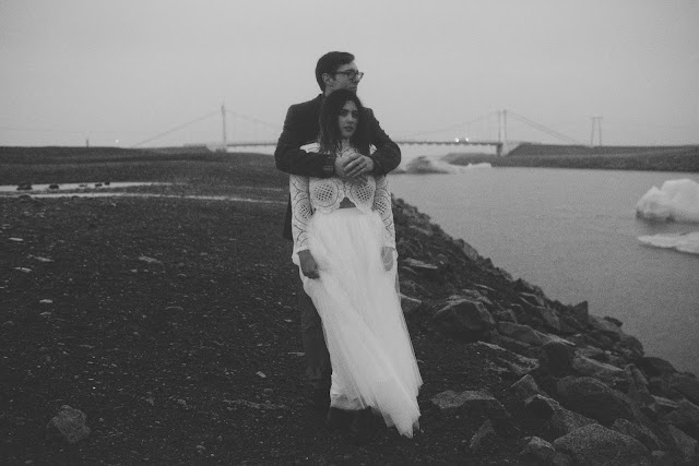 Violet, Short, Wedding, Photo, Iceland, Elopement