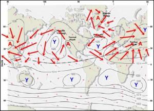 Atmosferdeki Genel Hava Dolaşımı