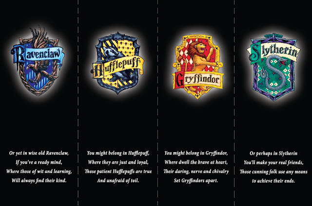 Quiz which Harry Potter house