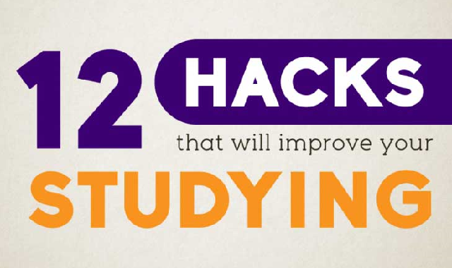 12 Hacks That Will Improve your Studying #infographic