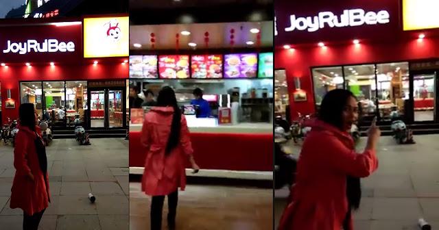 """Sikat na fast food chain na """"Jollibee"""" kinopya ng China at pinangalanang """"JoyRulBee"""""""