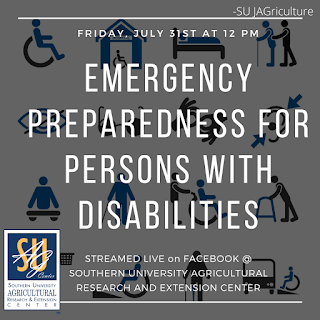 Emergency preparedness resources for persons with disabilities