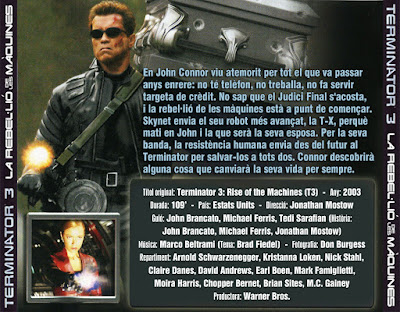 Terminator 3 - La rebel·lió de les màquines - [2003]