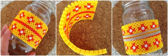 How to make curved Hama bead craft