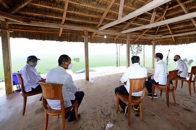 Presiden Jokowi Tingkatkan Luas Lumbung Pangan Sumba Tengah Jadi 10.000 Hektare