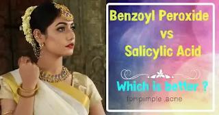 Benzoyl Peroxide vs Salicylic acid