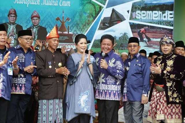 Populerkan Tradisi Tunggu Tubang, HD Yakin Muara Enim Jadi Trendsetter di Sumsel