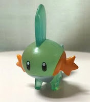 Mudkip figure clear version Tomy Monster Collection2003 Pokemon Festa
