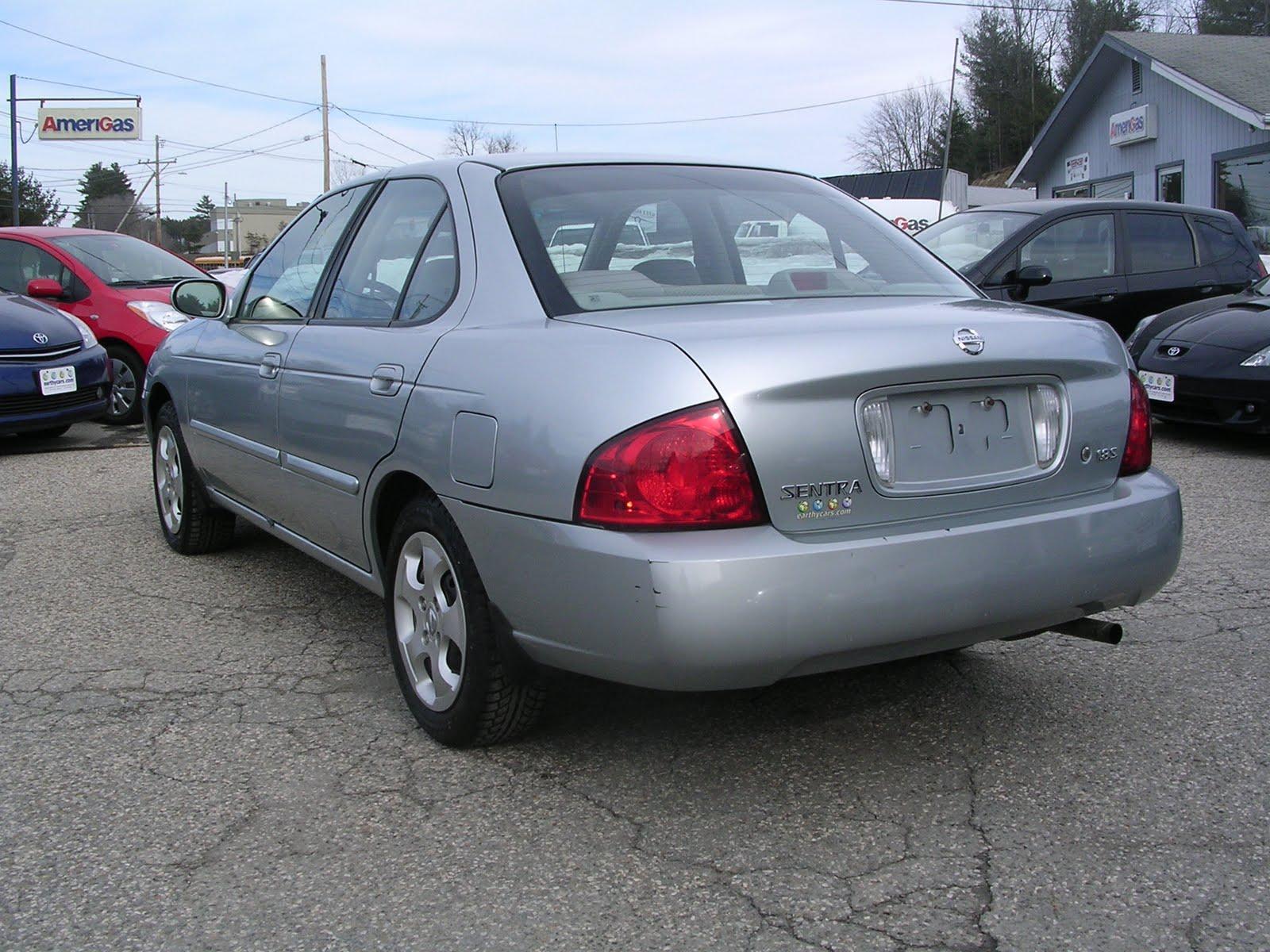 Earthy Cars Blog: EARTHY CAR OF THE WEEK: 2004 Nissan