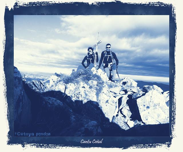 Cima del Cantu Ceñal en Picos de Europa.