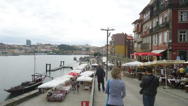 Cais da Ribeira - o que ver no Porto