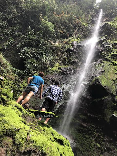 Curug Badak Batu Hanoman Tasikmalaya pada suatu ketika || JelajahSuwanto