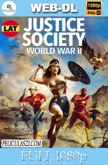 Justice Society World War II (2021) Full HD WEB-DL 1080p Dual-Latino VIP