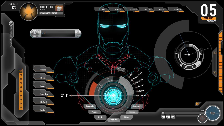 Wallpaper Teknologi 3d Cara Membuat Desktop Pc Menjadi Keren Wirya S Blog