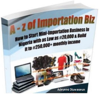 Book Cover for A-Z of Mini Importation Business