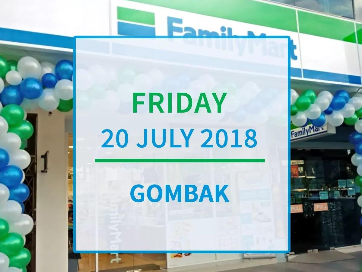FamilyMart Prima Sri Gombak Kini Dibuka