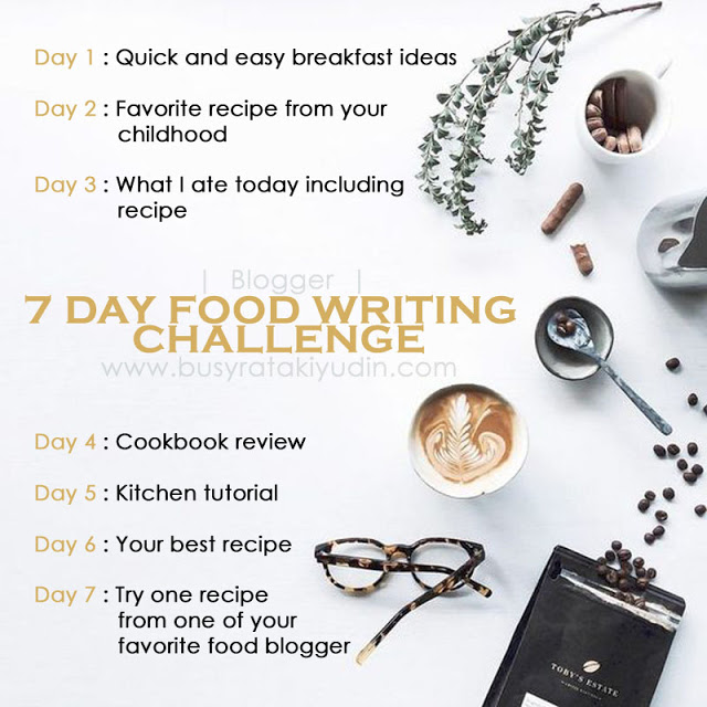 #FoodWritingChallenge ~ Day 6 Your Best Recipe