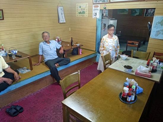 平和食堂の店内の写真