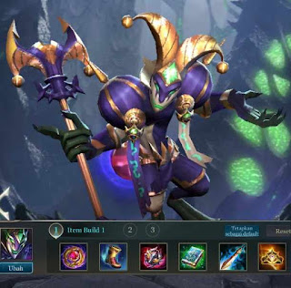 Build Item Terbaik Mganga Arena of Valor (AOV) - Magic Damage Tinggi.