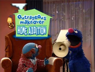 Mr. Johnson, Grover Outrageous Makeover: Home Addition. Sesame Street Episode 4323 Max the Magician season 43